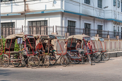 rickshaws. Guwahati, Assam India