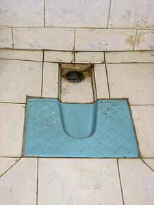 lodging bathroom, Tezpur, Assam India