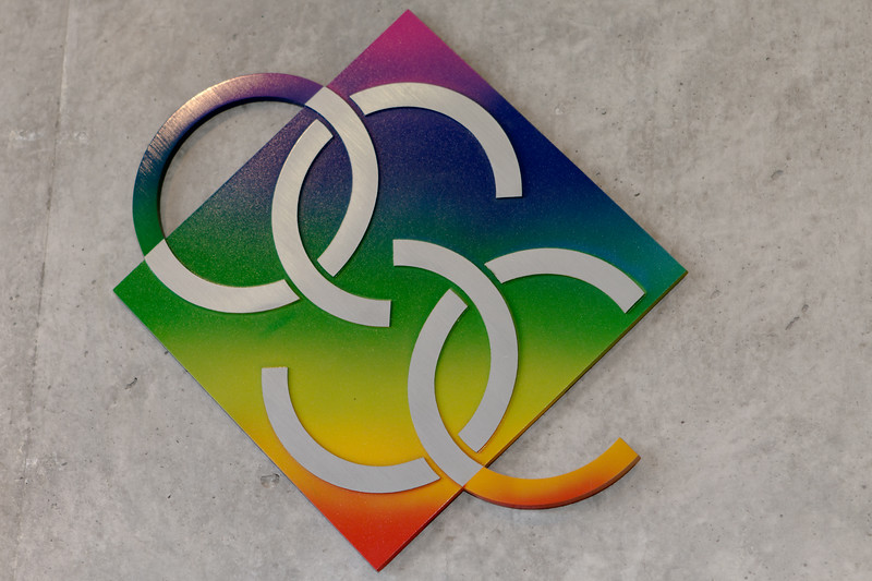 OSC Logo, College of Optical Sciences Meinel Building West Wing. The University of Arizona, Tucson, Arizona USA