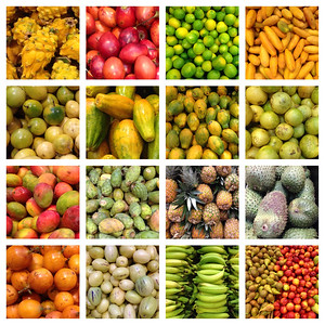 Fruits. Super Maxi Grocery Store, Quito, Pichincha Ecuador