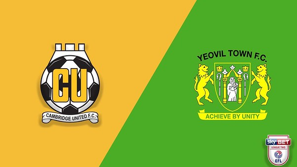 Cambridge United v Yeovil Town