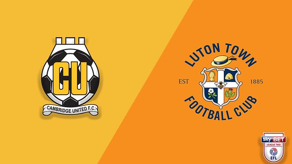 Cambridge Utd v Luton Town