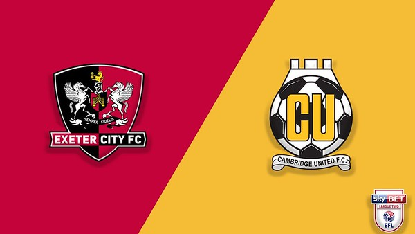 Exeter City v Cambridge Utd