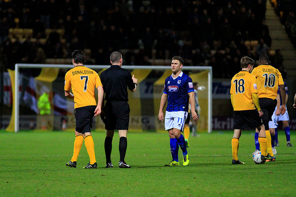 Cambridge Utd v Grimsby Town
