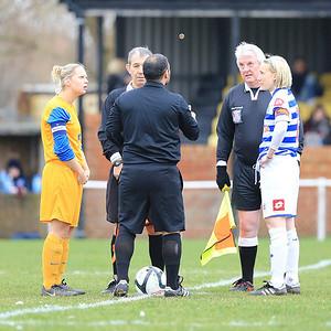 QPRLFC v Gillingham Ladies FAW Cup R2