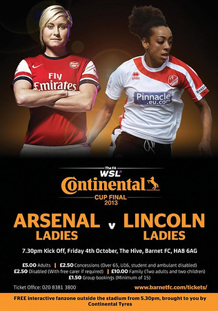 WSL Continental Cup Final 2013