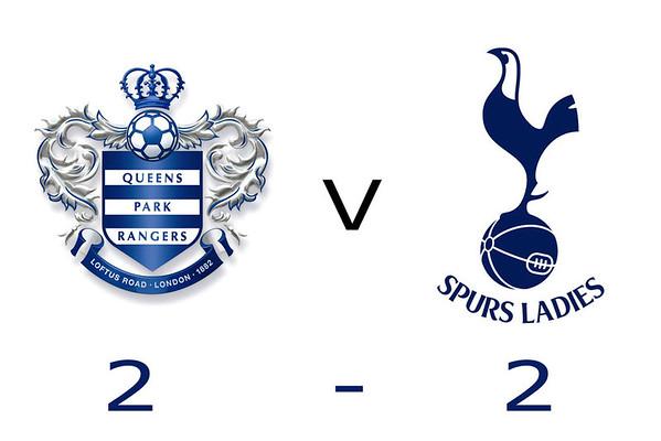 QPR Ladies v Tottenham Hotspur Ladies 2013