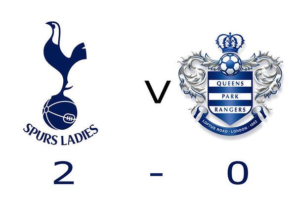 Tottenham Hotspur Ladies v QPR Ladies 2013