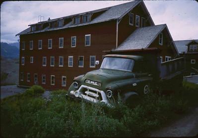 A slide taken in June of 1983 at Kennecott.