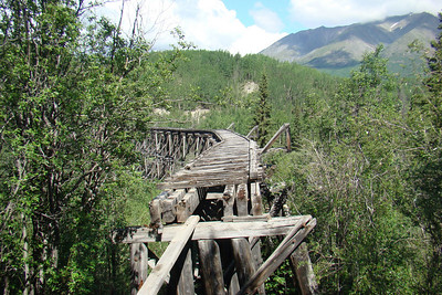 The Gilahina trestle.