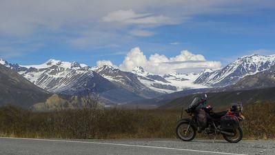 The KLR and Gulkana Glacier