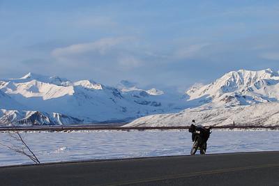 Gulkana Glacier Over Summit Lake