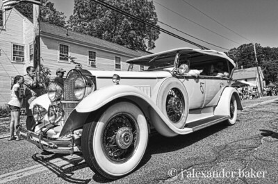 Here comes the Packard.