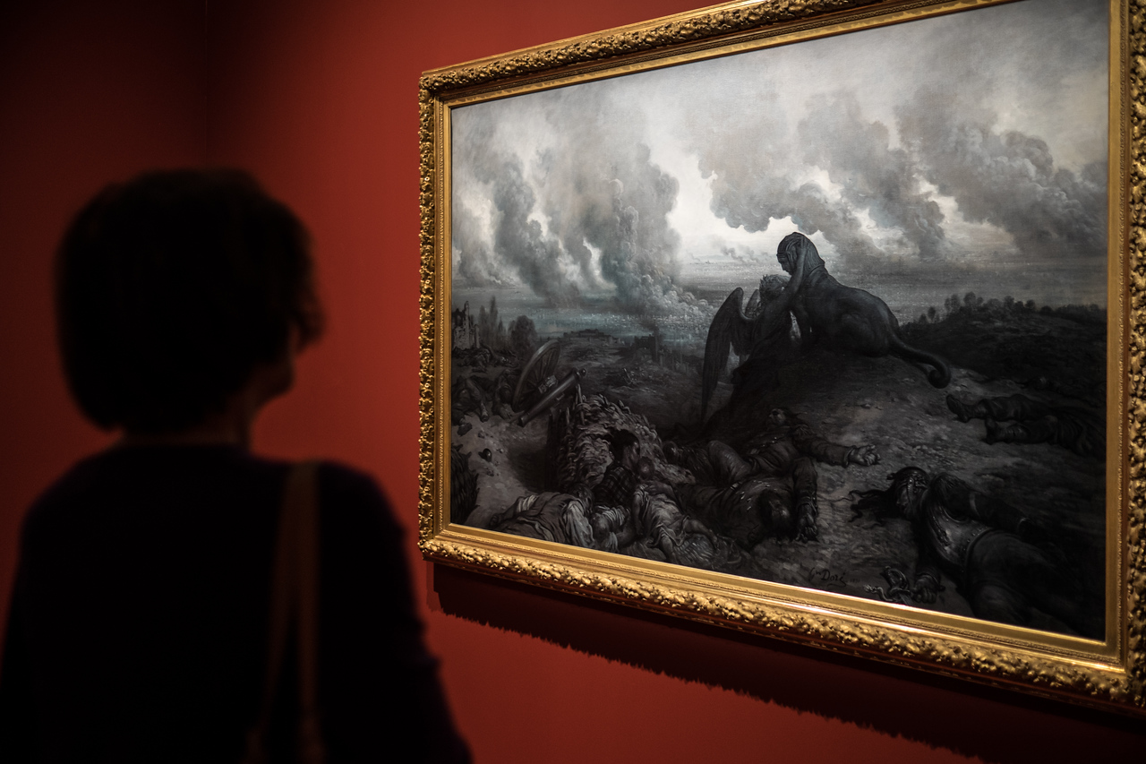 Gustave Dore exhibition at Musee d'Orsay