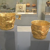 Gold cups from Vaphio - The Athens Archaeological Museum. More magnificent Mycenaean goldsmithing