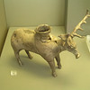 Reindeer oil burner - The Athens Archaeological Museum. Likely used in a funeral function