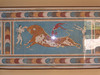 Minoan bull athletes/dancers fresco - Piano Nobile - reception and state rooms