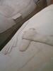 Female Phoenician sacrophagus - Arms