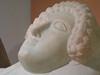 Female Phoenician sacrophagus - Head