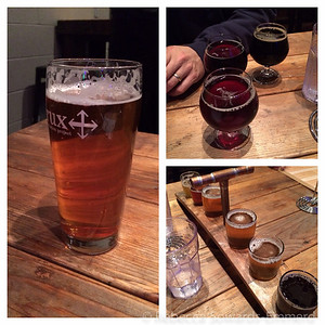 From our hotel, several amazing breweries were within walking distance. For dinner, we headed to Crux Fermentation project.