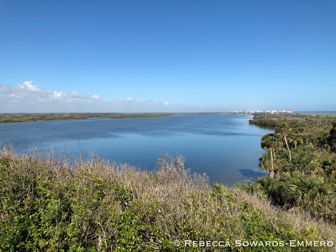 Canaveral National Seashore: View from Turtle Mound