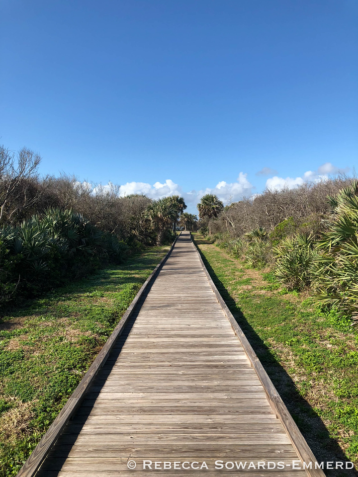 Canaveral National Seashore: Turtle Mound trail