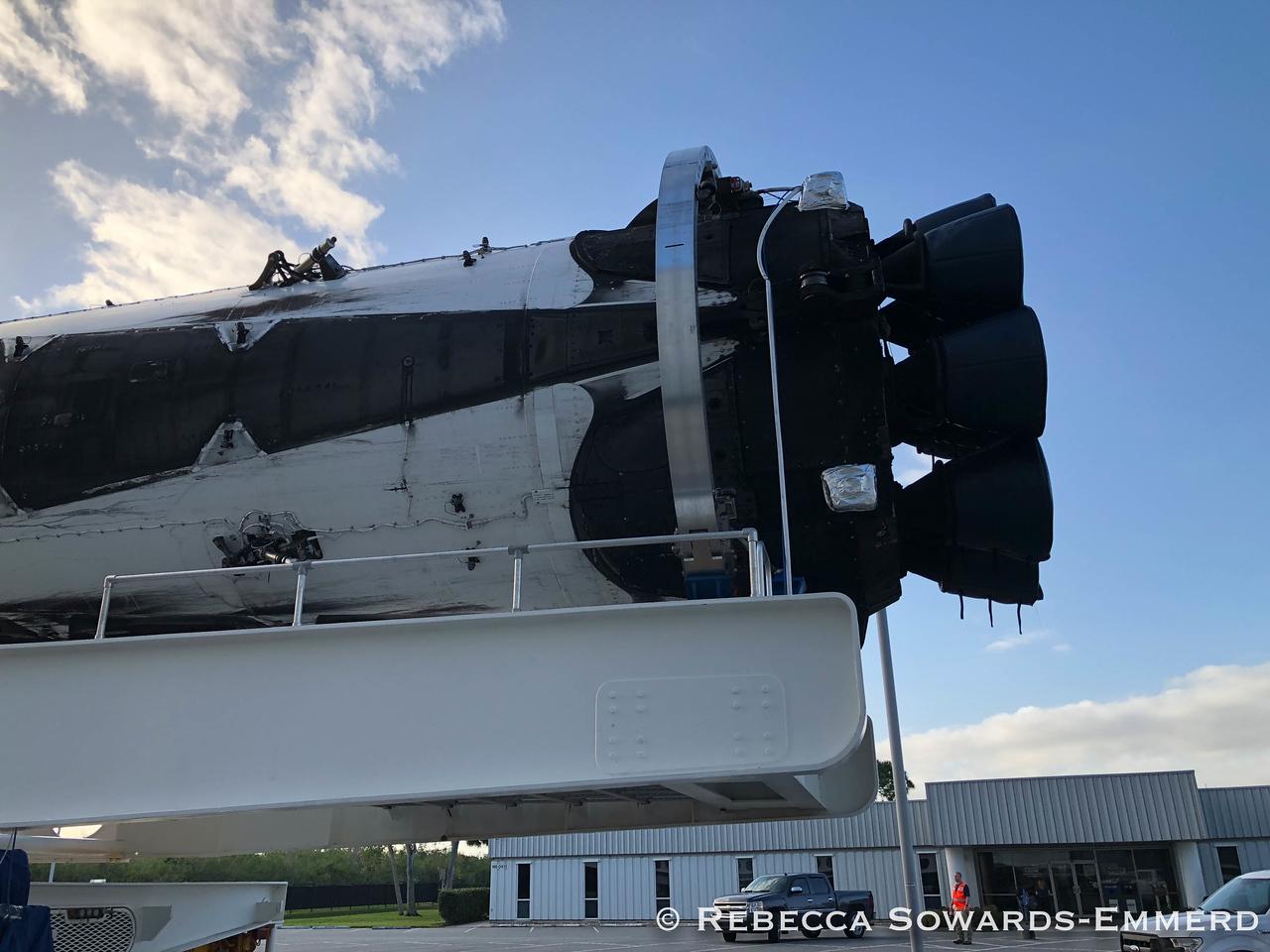 Falcon Heavy booster