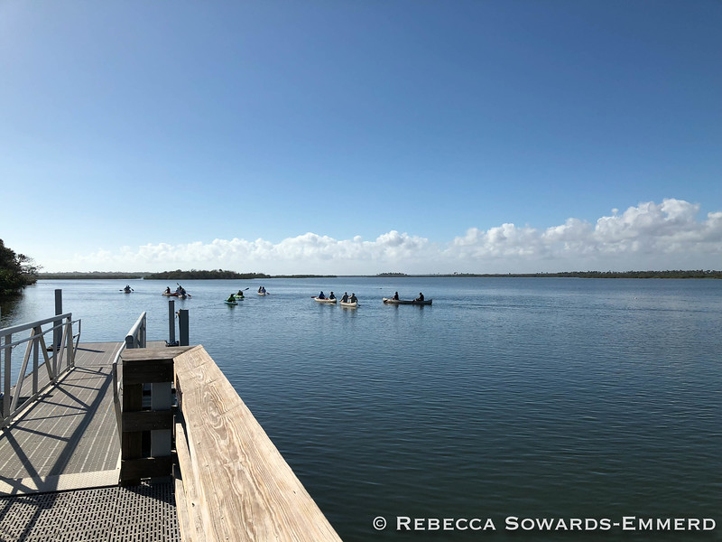 Canaveral National Seashore: Dock at Visitor Center