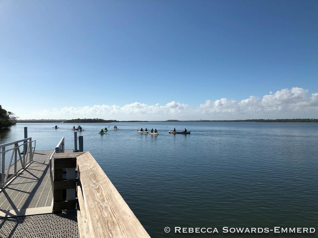 Canaveral National Seashore: Dock at Visitor Center