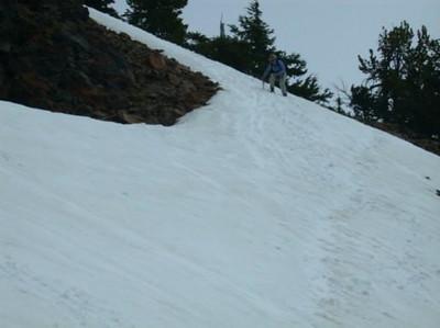 Bex on Garfield Peak slope