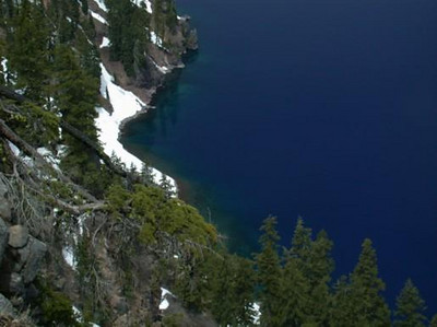 Shore of Crater Lake