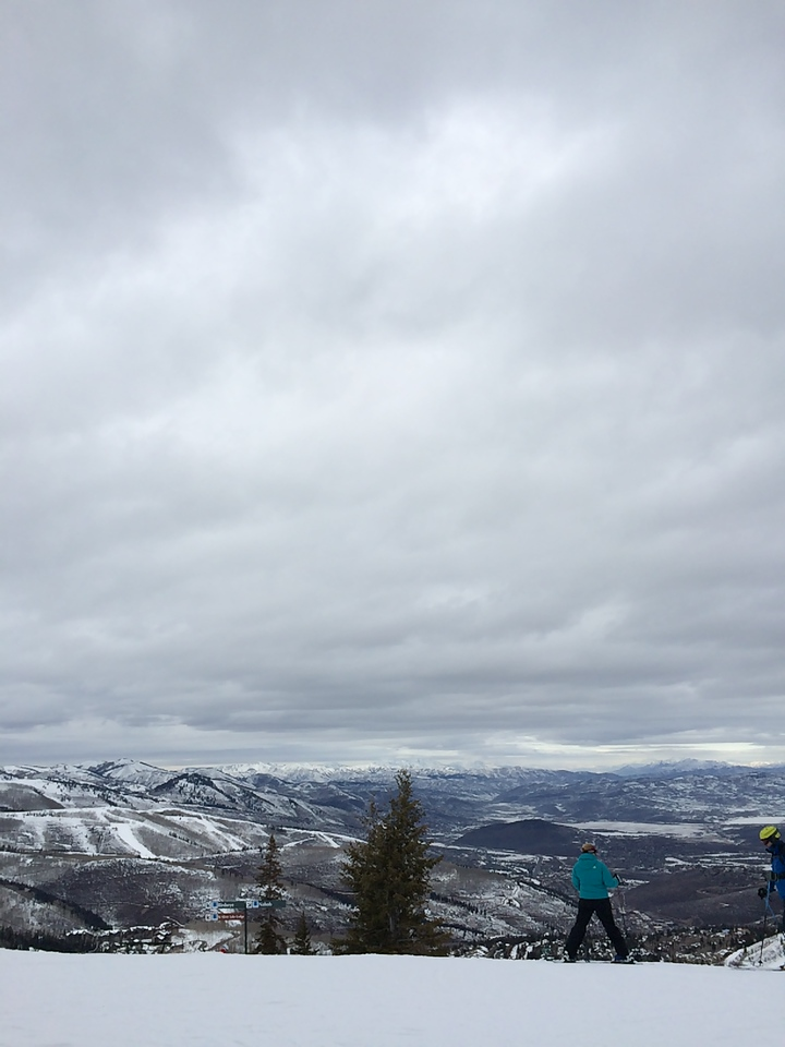 View from the top of Bald Mountain, one of the summits of Deer Valley