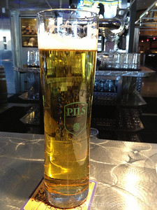 The fresh Pivo Pils. One of my new favorite hot weather beers.