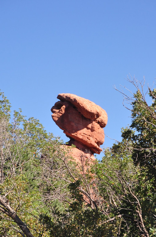 The Scotsman at Garden of the Gods
