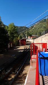 Cog railway bottom.
