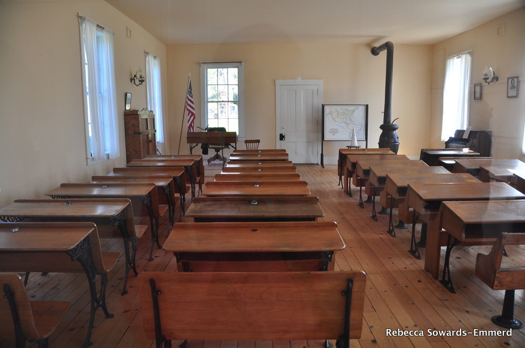 Schoolhouse, Columbia State Historic Park.
