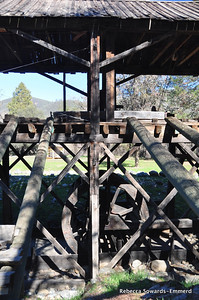 A replica of Sutter's Mill, Marshall Gold Discovery State Park