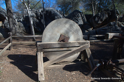 Columbia State Historic Park, grinding stone