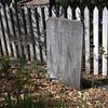 Hastily made grave marker.