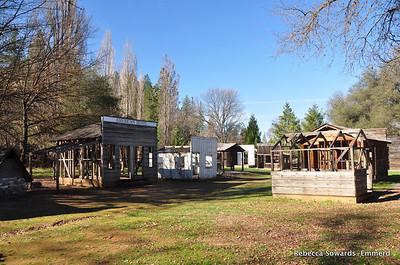 Columbia State Historic Park, old structures