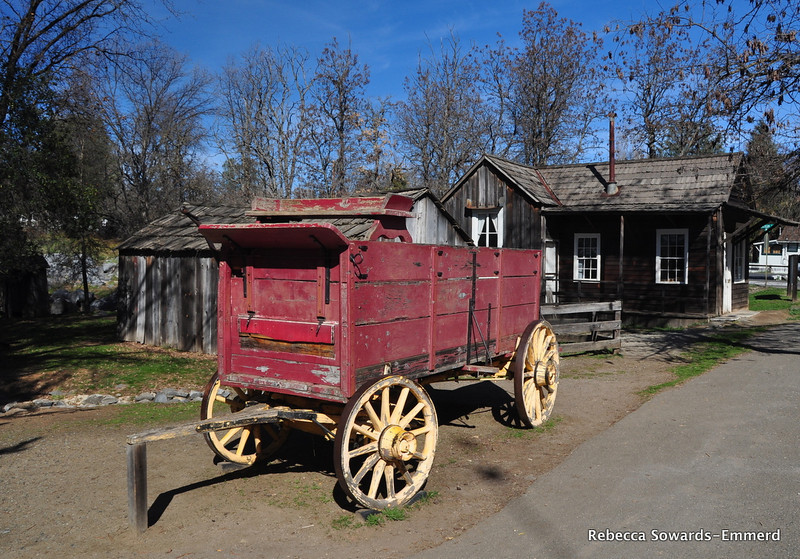 Wagon, Columbia State Historic Park.