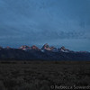 Leaving Jackson at sunrise, we caught some good light on the Tetons