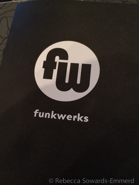 Our hotel was walking distance to Funkwerks, one of my favorite interesting brewers. We wandered down for a sampler, and oh my goodness...