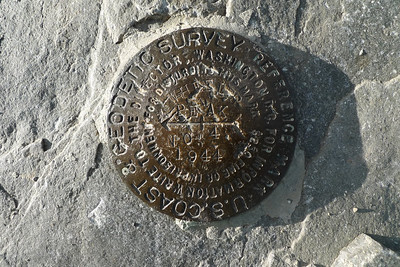 One of the USGS Benchmarks. Wheeler Peak is 13063 ft tall. Second tallest in Nevada, or highest if you don't like to count Boundary because of its prominence.