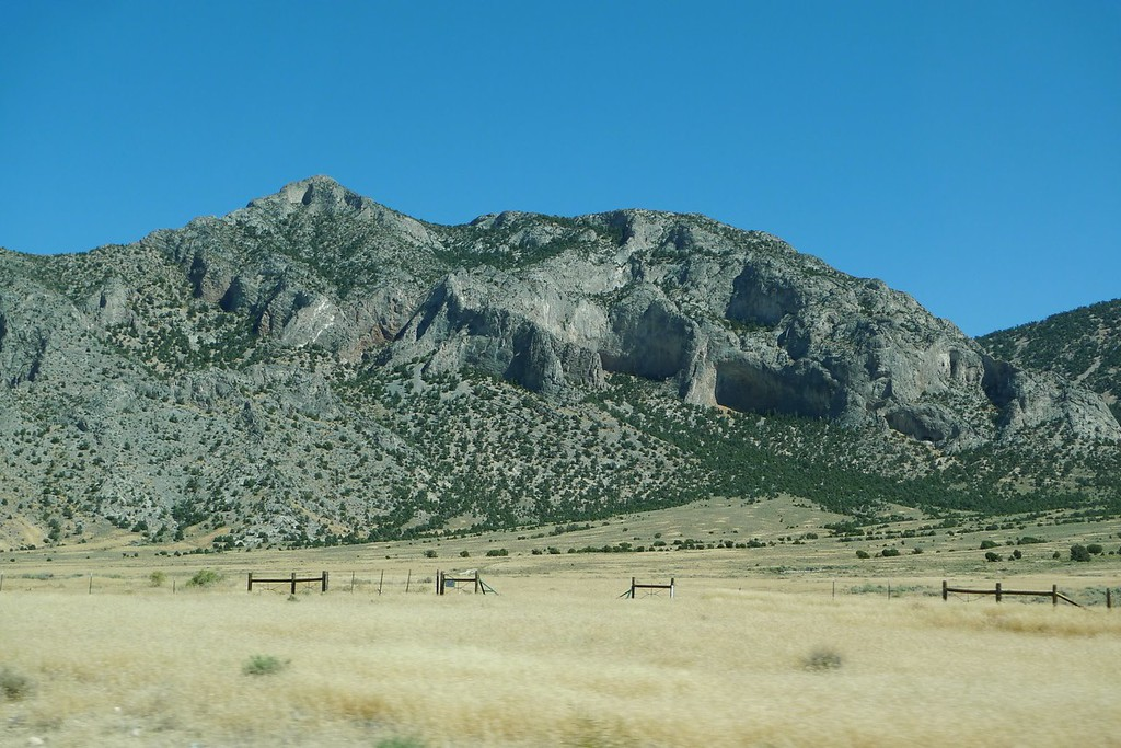 Rock formations along 6.