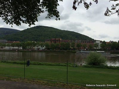 View across the Neckar to old town