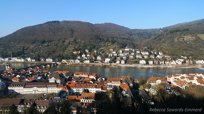 Neckar river and Altstadt