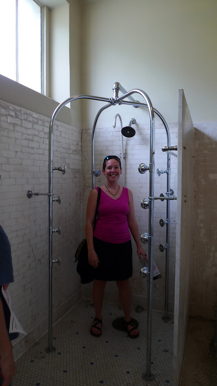 Nice shower?
