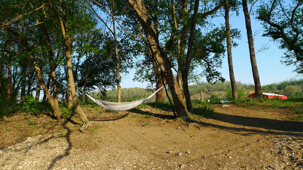 And a hammock