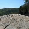 On top of Hawksbill Crag